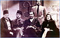 Laila Mourad with male cast