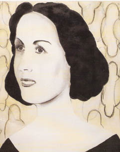 Laila Mourad by artist Siwi